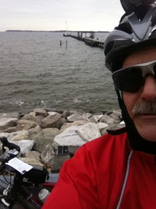 Solomons Control: Me, the bike, and the Bay