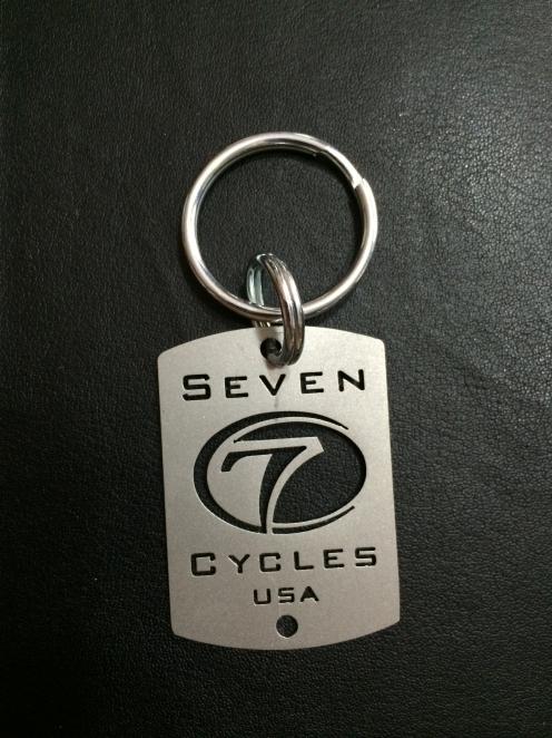 Seven Keychain
